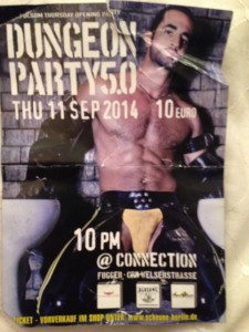 Dungeon Party @ Connections Flyer
